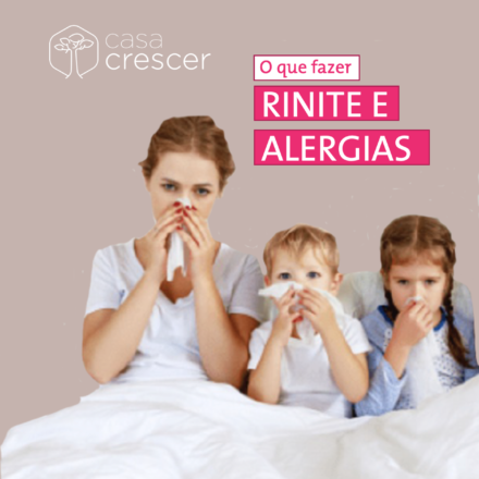 imagem chamada texto alergias